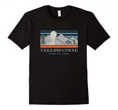 Yellowstone National Park T Shirt #explore Black