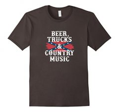 Country Music Beer Trucks T Shirt