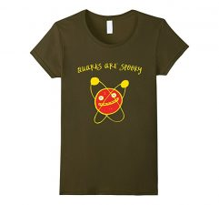 Quarks Are Spooky Science T Olive