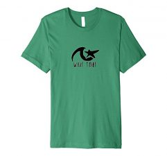 Wave Tribe Star T-Shirt-Kelly Green