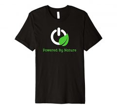 Powered By Nature T-Shirt-Black