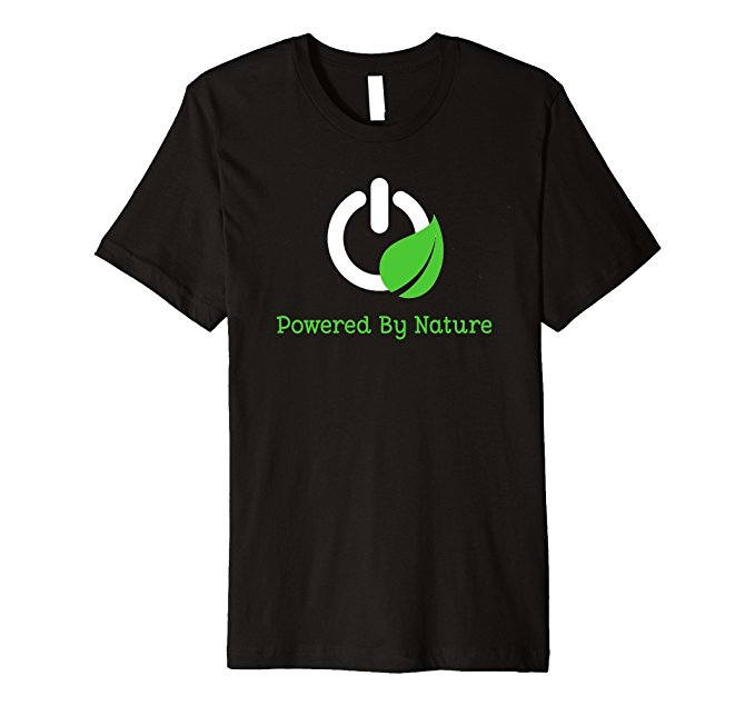Powered By Nature T-Shirt 1318