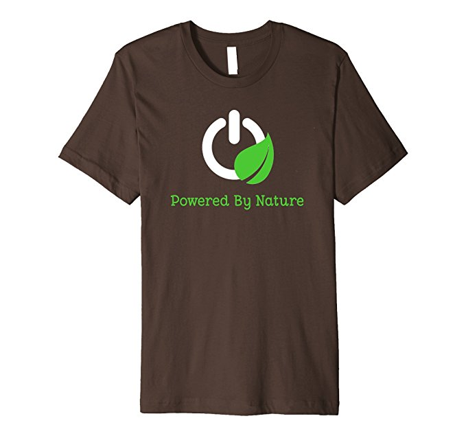 Powered By Nature T-Shirt 1319