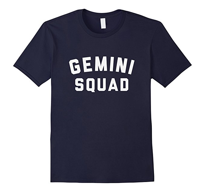 Gemini Squad Star Sign T Shirt 1086
