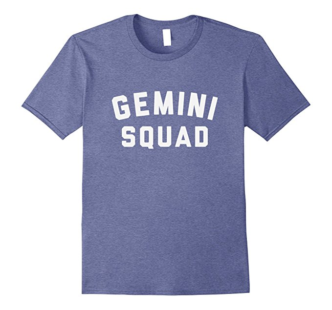 Gemini Squad Star Sign T Shirt 1088