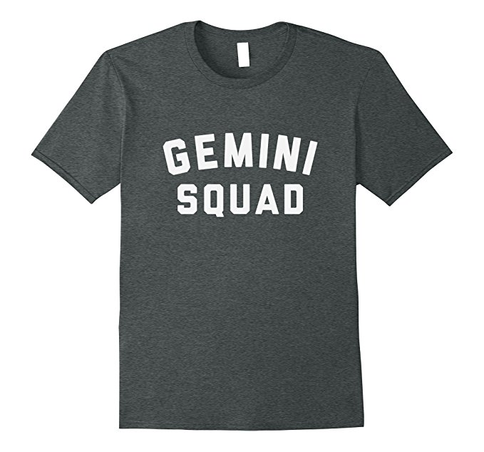 Gemini Squad Star Sign T Shirt 1089