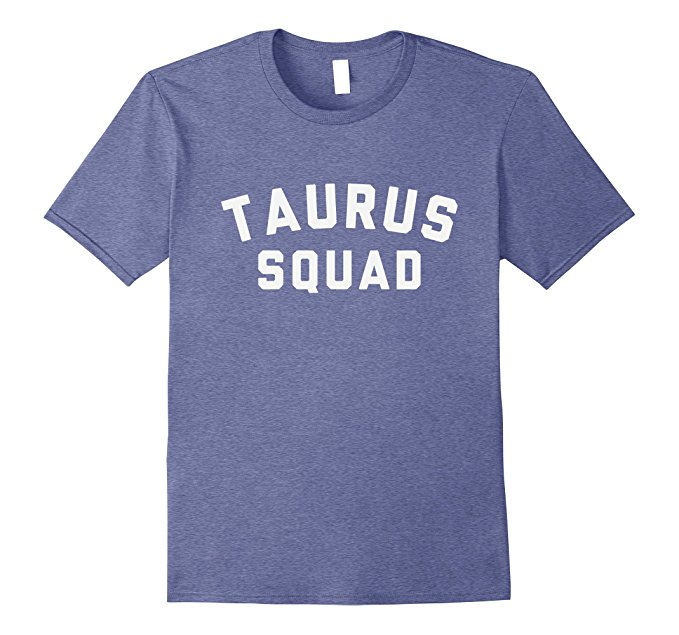 Taurus Squad Star Sign T Shirt 1097