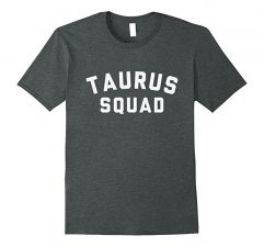 Taurus Squad Star Sign T Shirt-Dark Heather
