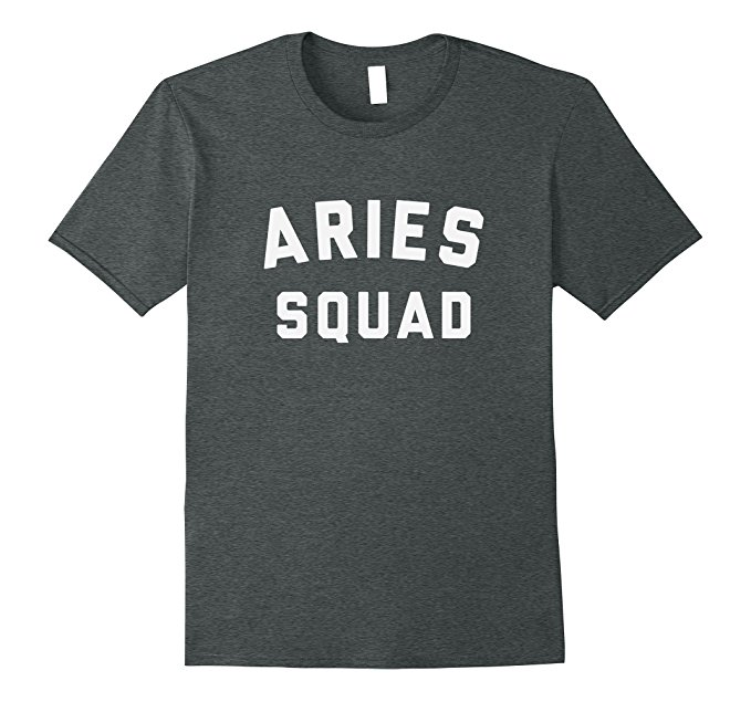 Aries Squad Star Sign T Shirt 1102
