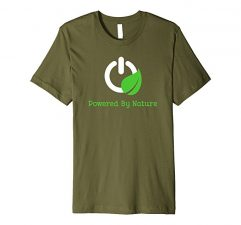 Powered By Nature T-Shirt-Olive