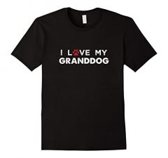 I Love My Granddog Dog Lovers T Shirt