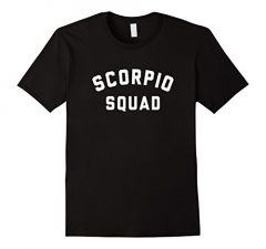 Scorpio Squad Zodiac Sign T Shirt