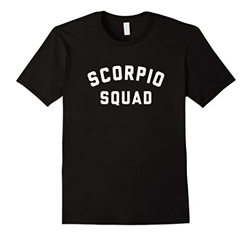 Scorpio Squad Zodiac Sign T Shirt 1148