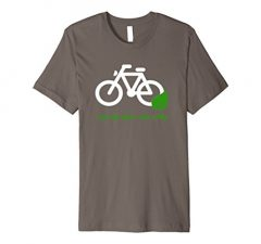 Save The Planet Ride A Bike T Shirt
