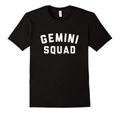 Gemini Squad Star Sign T Shirt 1084