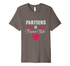 Partners in Beard Style T-Shirt 1229