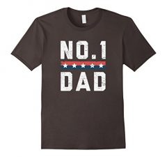 No.1 Dad Father's Day T Shirt