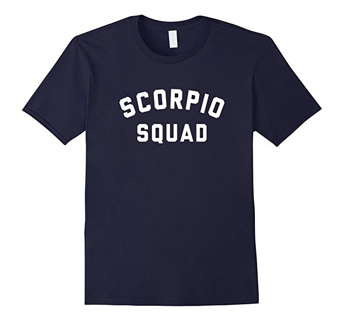 Scorpio Squad Zodiac Sign T Shirt 1151