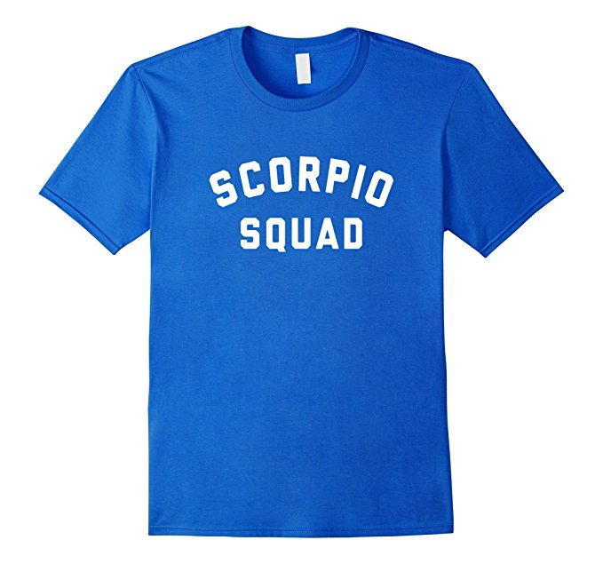 Scorpio Squad Zodiac Sign T Shirt 1152
