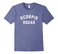 Scorpio Squad Zodiac Sign T Shirt-Heather