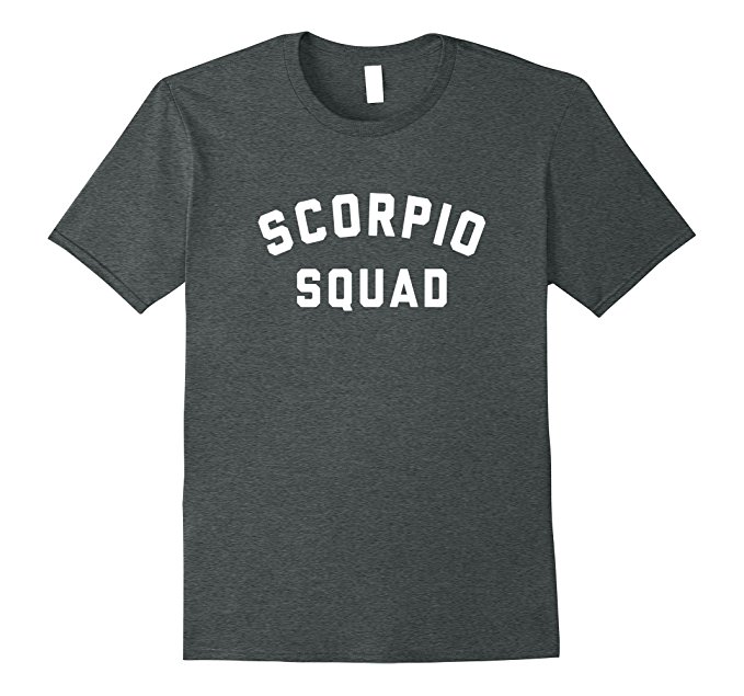 Scorpio Squad Zodiac Sign T Shirt 1150