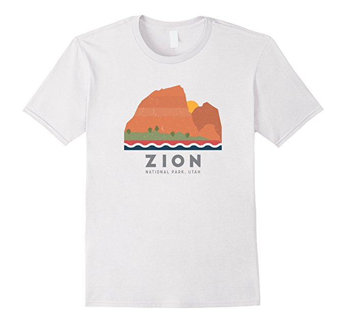 Zion National Park T Shirt 1166