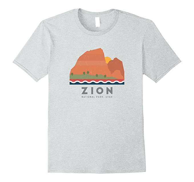 Zion National Park T Shirt 1167