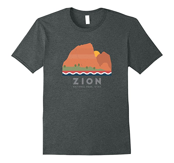 Zion National Park T Shirt 1169
