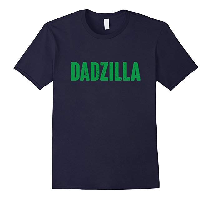 Mens Dadzilla Funny Father's Day Shirt 856