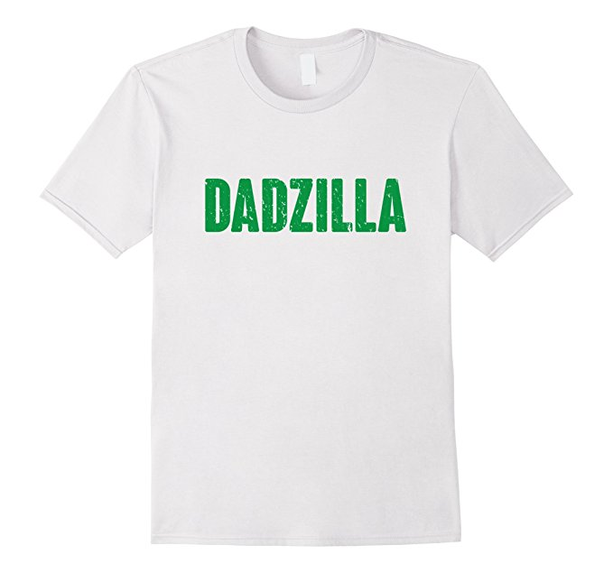 Mens Dadzilla Funny Father's Day Shirt 853