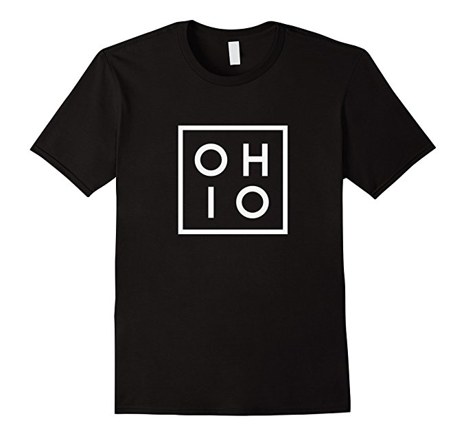 OHIO the Buckeye State T Shirt 936