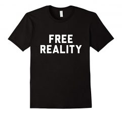 Free Reality Winner T Shirt-Black