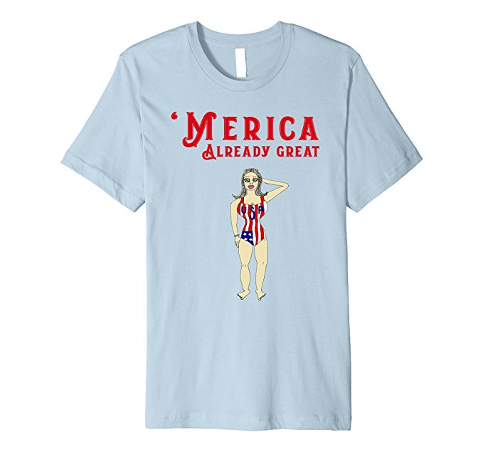 Vintage 'Merica T-Shirt Already Great 822
