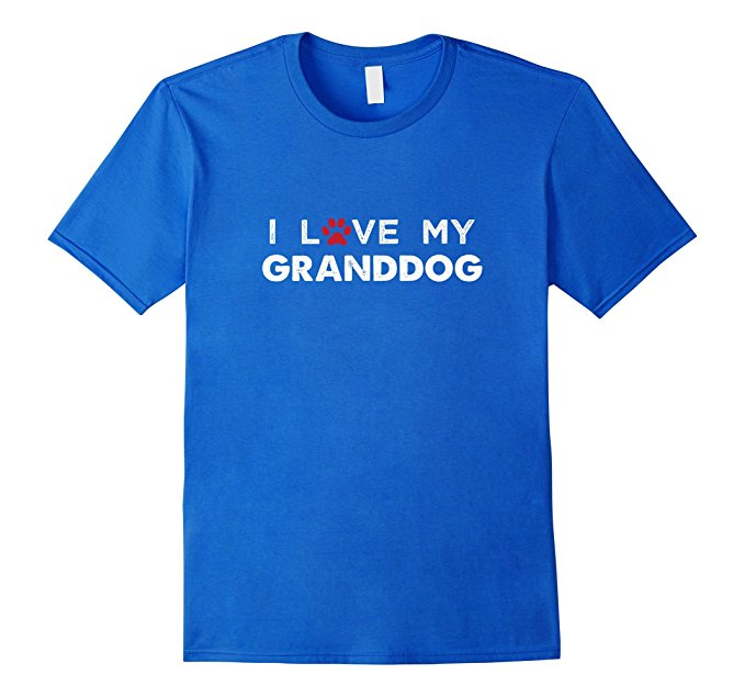 I Love My Granddog Dog Lovers T Shirt 953