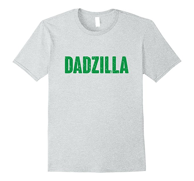 Mens Dadzilla Funny Father's Day Shirt 854