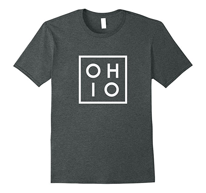 OHIO the Buckeye State T Shirt 937