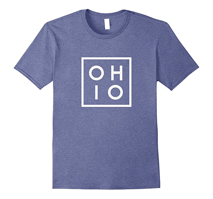 OHIO the Buckeye State T Shirt 938