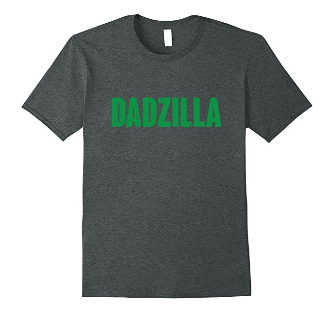 Mens Dadzilla Funny Father's Day Shirt 855