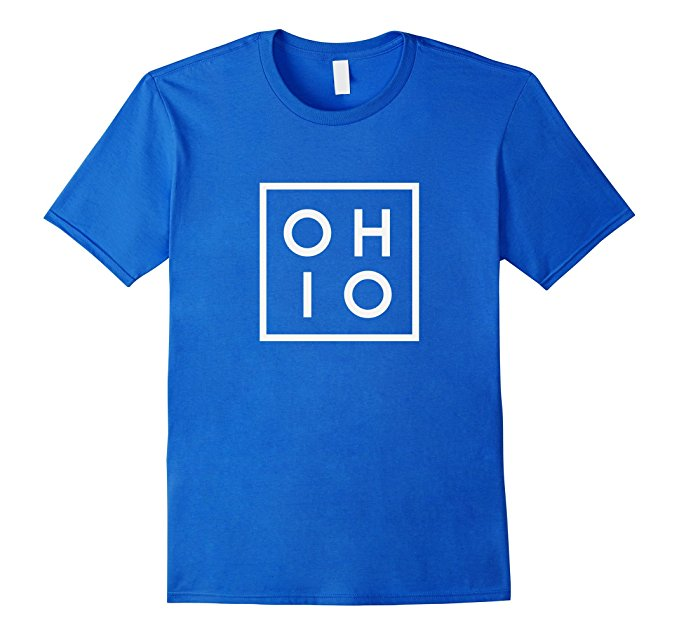 OHIO the Buckeye State T Shirt 939