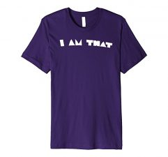 I Am That T Shirt-Purple
