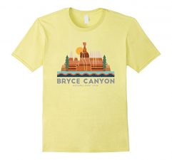 Bryce Canyon National Park T Shirt-Lemon
