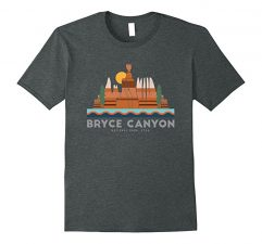 Bryce Canyon National Park T Shirt-Dark Heather