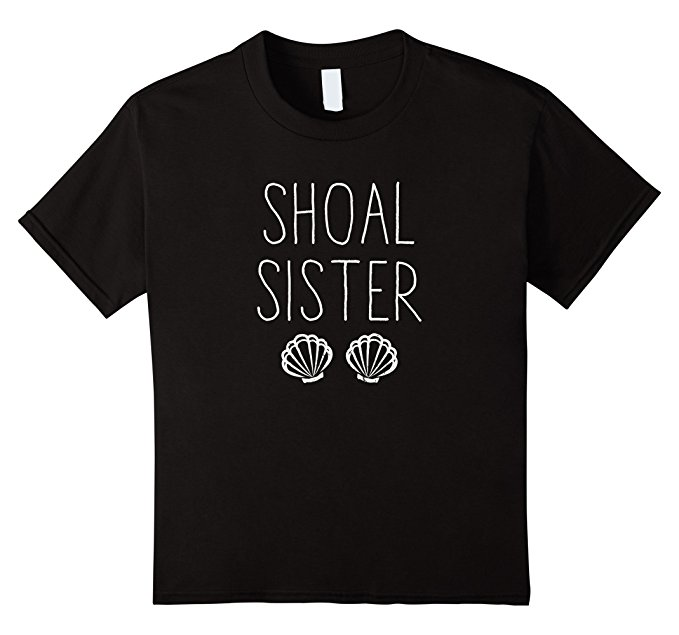 Shoal Sister Mermaid T Shirt 1377