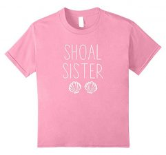 Shoal Sister Mermaid T Shirt-Pink