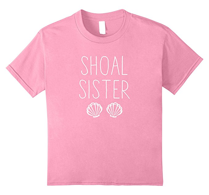 Shoal Sister Mermaid T Shirt 1378