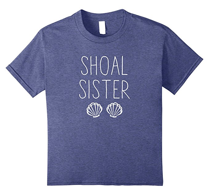 Shoal Sister Mermaid T Shirt 1379